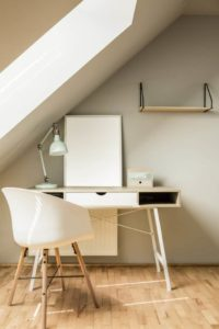 attic loft conversion with office space