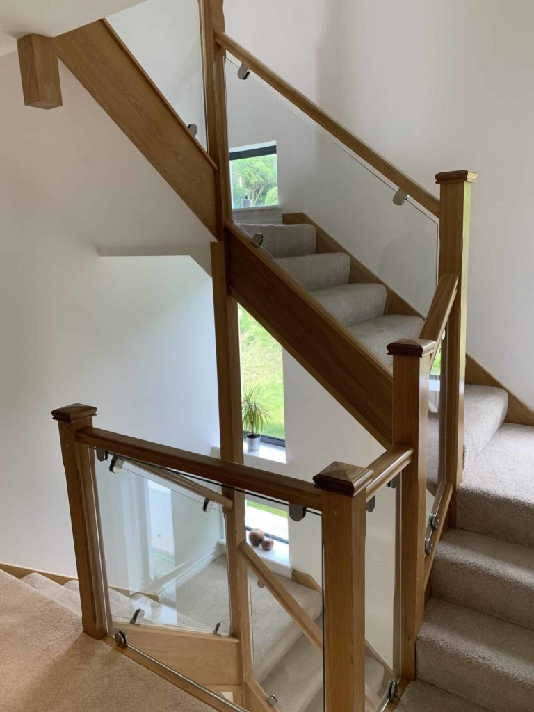 loft conversion staircase completed