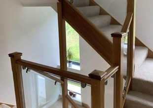 Loft conversion staircases completed process
